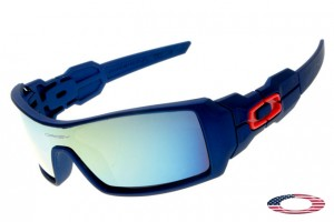 zpqvf Cheap Knockoff Oakleys Oil Rig sunglasses gray / blue iridium,Fake