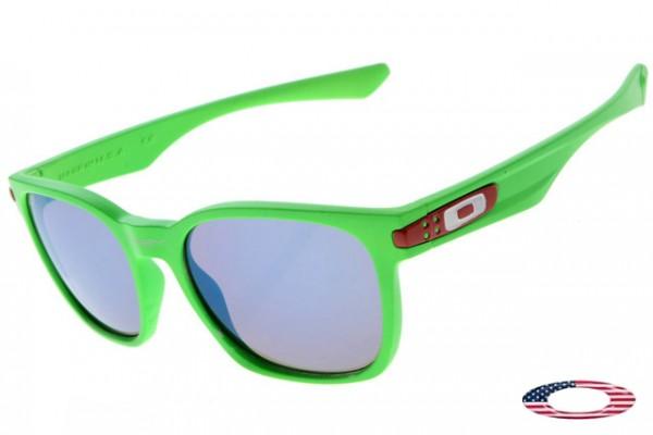 oakley sunglasses green nqcz  Quick View 路 Discount Oakleys Garage Rock Sunglasses Green / Blue Iridium